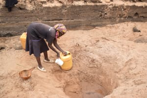 The Water Project: Kiteta Community A -  At The Scoop Hole