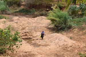 The Water Project: Kiteta Community A -  Carrying Water