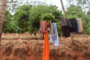 The Water Project: Kiteta Community -  Clothesline