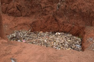 The Water Project: Kiteta Community -  Garbage Pit