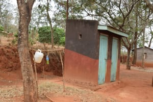 The Water Project: Kiteta Community -  Latrines And Tippy Tap For Handwashing
