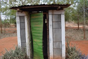 The Water Project: Kiteta Community A -  Latrine