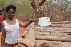 The Water Project: Kiteta Community A -  Showing Dish Drying Rack