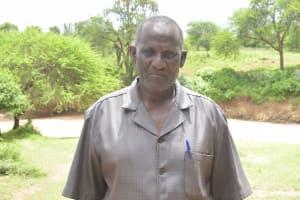 The Water Project: Mbitini Community -  James Ngonzi