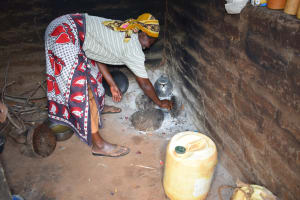 The Water Project: Mbitini Community -  Cooking Area