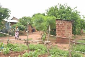 The Water Project: Mbitini Community -  Garden And Compound