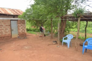 The Water Project: Mbitini Community A -  Clothesline