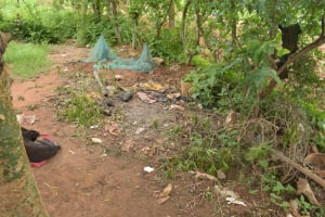 The Water Project: Mbitini Community A -  Garbage Pit