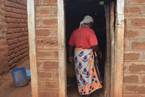 The Water Project: Mbitini Community A -  Walking Into Kitchen
