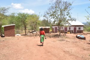The Water Project: Kangalu Community C -  Walking Around Compound