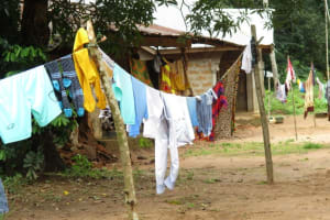 The Water Project: Lungi, Mamankie, DEC Mamankie Primary School -  Clothes Line