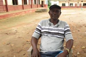 The Water Project: Lungi, Mamankie, DEC Mamankie Primary School -  Head Teacher Francis M Kamara