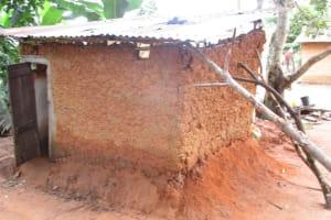 The Water Project: Lungi, Mamankie, DEC Mamankie Primary School -  Latrine