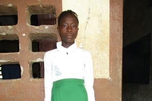 The Water Project: Lungi, Kasongha, DEC Kasongha Primary School -  Student Aminata