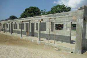 The Water Project: Lungi, Kasongha, DEC Kasongha Primary School -  School Building Under Construction