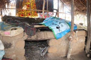 The Water Project: Lungi, Mahera, Mahera Health Clinic -  Area For Drying Fish
