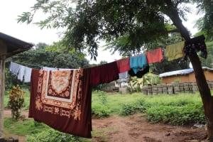 The Water Project: Lungi, Mahera, Mahera Health Clinic -  Clothesline
