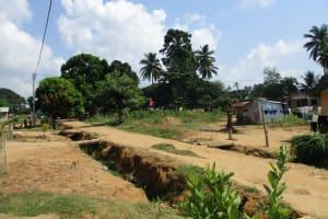 The Water Project: Lungi, Mahera, Mahera Health Clinic -  Community Landscape