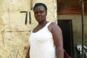 The Water Project: Lungi, Mahera, Mahera Health Clinic -  Kadie Baba Bangura
