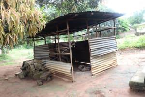The Water Project: Lungi, Mahera, Mahera Health Clinic -  Kitchen