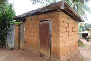 The Water Project: Lungi, Mahera, Mahera Health Clinic -  Latrine