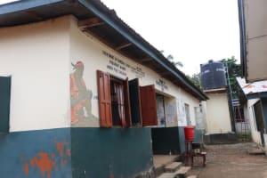 The Water Project: Lungi, Mahera, Mahera Health Clinic -  Mahera Health Center Building