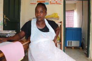The Water Project: Lungi, Mahera, Mahera Health Clinic -  Midwife Nurse