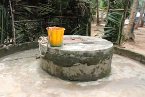 The Water Project: Lungi, Rosint, #26 Old Town Road -  Open Well