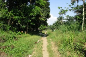 The Water Project: Lungi, Rosint, #26 Old Town Road -  Land Scape