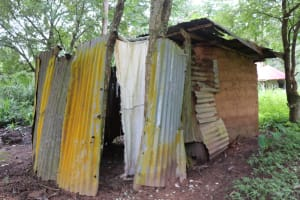 The Water Project: Lungi, Rosint, #26 Old Town Road -  Latrine