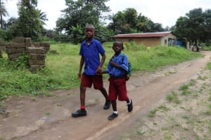 The Water Project: Lungi, Rosint, #26 Old Town Road -  Pupils Head For Home