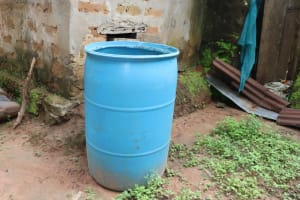 The Water Project: Lungi, Rosint, #26 Old Town Road -  Water Storage