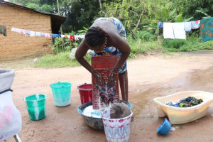 The Water Project: Lungi, Rosint, #26 Old Town Road -  Young Girl Laundering