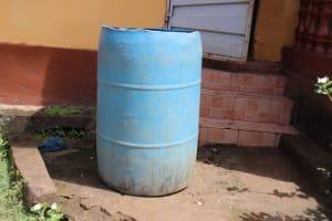 The Water Project: Lungi, New York, Robis, #7 Masata Lane -  Water Storage