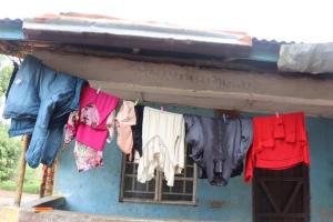 The Water Project: Lungi, New London, #10 Dankama Street -  Clothesline