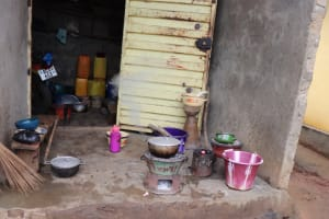 The Water Project: Lungi, New London, #10 Dankama Street -  Kitchen