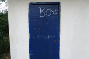 The Water Project: Lungi, Madina, St. Mary's Junior Secondary School -  Boys Latrine Block