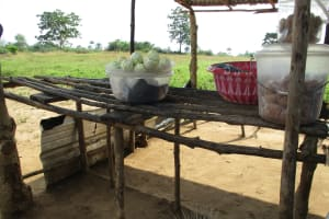 The Water Project: Lungi, Madina, St. Mary's Junior Secondary School -  Dish Rack