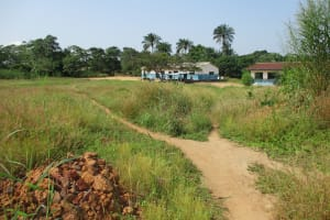 The Water Project: Lungi, Madina, St. Mary's Junior Secondary School -  School Landscape