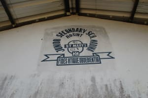The Water Project: Lungi, Madina, St. Mary's Junior Secondary School -  School Sign Board