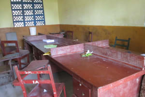The Water Project: Lungi, Madina, St. Mary's Junior Secondary School -  Staff Room