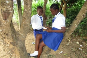 The Water Project: Lungi, Madina, St. Mary's Junior Secondary School -  Student Studing