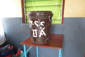 The Water Project: Lungi, Madina, St. Mary's Junior Secondary School -  Water Storage