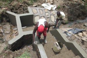 The Water Project: Sambaka Community, Sambaka Spring -  Plaster Works