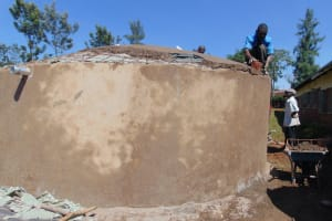 The Water Project: Demesi Primary School -  Dome Work