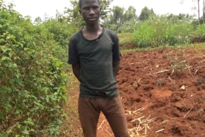 The Water Project: Shikhombero Community, Atondola Spring -  Mr Cavilah