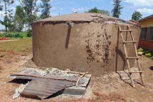 The Water Project: Demesi Primary School -  Almost Complete
