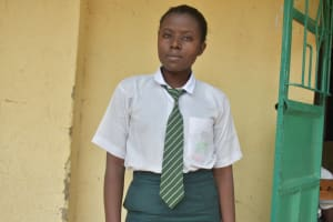 The Water Project: Makunga Secondary School -  Student Joseline