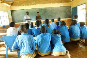 The Water Project: Shichinji Primary School -  Training With Facilitator Jacklyne Chelagat