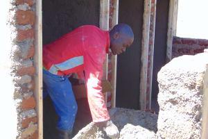 The Water Project: Kakamega Muslim Primary School -  Cement Splattered Artisan Works On